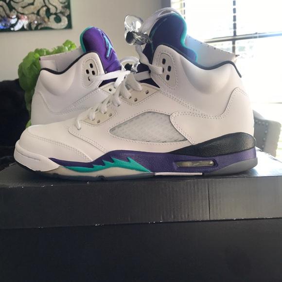 Nike Shoes   Air Jordan 5 Retro Grape